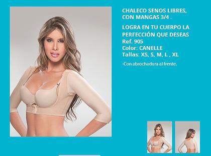 CHALECO CON MANGAS